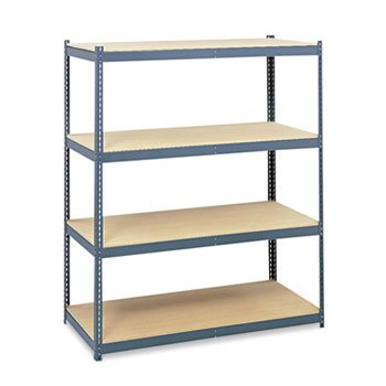 Safco Steel Pack Archival Shelving, 69w x 33d x 84h, Gray-- by BND 73555526004 5260