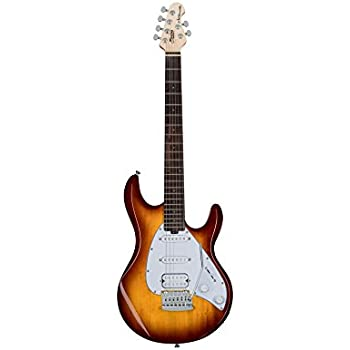 Sterling By MusicMan 6 String Sterling by Music Man Silhouette Silo3 Electric Guitar in Tobacco Burst SILO3-TBS-R1