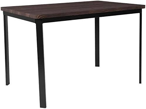 Flash Furniture HS-D01154TR-6432-GG Espresso Dining Tables 30 in x 45.75 in in,