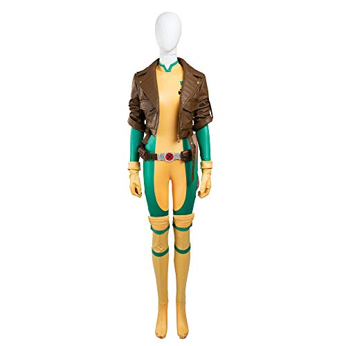 COSSHOW Xmen Costume X-men Rogue Coat Cosplay Anime Customized Halloween Jacket (L)
