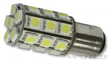 Putco 231156W-360 LED 360-Degree Premium Replacement Bulb -2 Piece by Putco