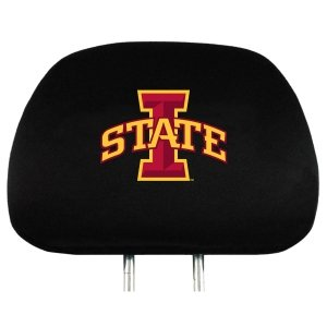 Covers Headrest Ncaa (NCAA Iowa State Cyclones Head Rest Cover, 2-Pack)
