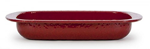 Baking Pan Color: Red on Red by Golden Rabbit
