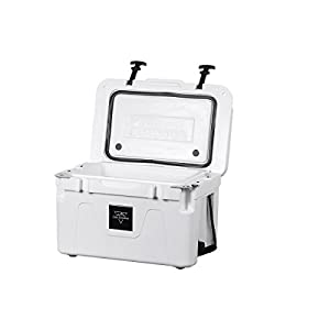 Monoprice Emperor Cooler - 25 Liters - White | Securely Sealed, Ideal for The Hottest and Coldest Conditions - Pure Outdoor Collection