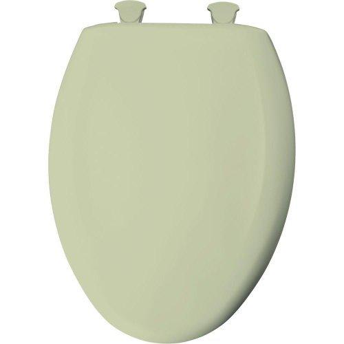 Bemis 7M1201SLOW 006 Slow Close Sta-Tite Elongated Closed Front Toilet Seat, Bone by Bemis