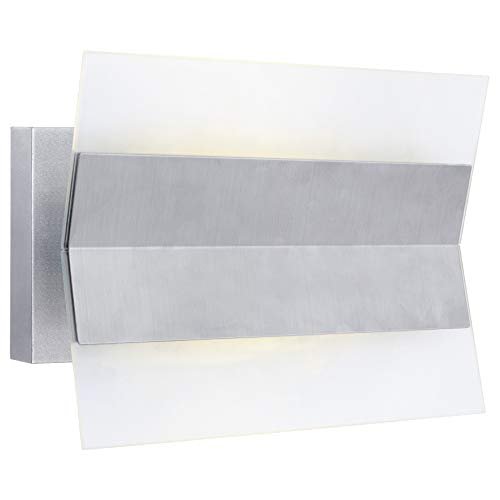 Eglo 90229 Xennia 1 Light LED ADA Compliant Outdoor Wall Sconce, Stainless Steel