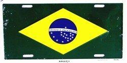 (LP - 481 Brazil License Plate - 2368)
