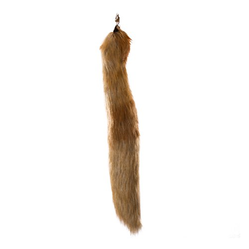 [Life-like Fennec Fox Tail Clip-On Accessory for Fennec Fox Cosplay, Fennec Fox Costume, Pretend Animal Play or Zoo Animal Party] (Pig Infant Costumes)