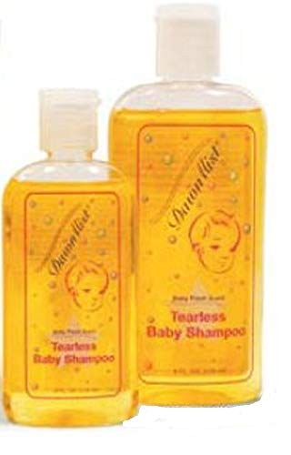 Baby Shampoo 4 oz. Case of 96 Baby Fresh Scent Solution. PH Balanced skin care solution for showers or baths. Tearless Shampoo in Plastic Squeeze Bottle. by AMZ Medical Supply