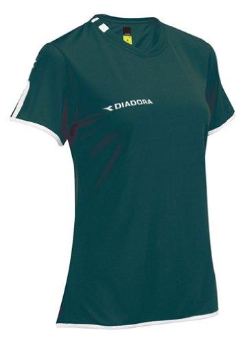 Diadora Valido Jersey Shirt, Forest, XX-Small