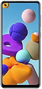 Samsung Galaxy A21s SM-A217FZKGEGY Dual SIM Mobile - 6.5 Inch, 64 GB, 4 GB RAM, 4G LTE - Black