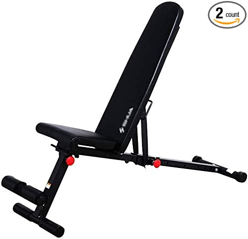 Details about  /Adjustable Workout Bench Flat Incline Decline Ab Weight Fitness Exercise Gym New