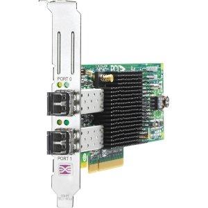 Hp 82e 8gb Dual-port Pci-e Fc Host Bus Adapter Aj763b 1