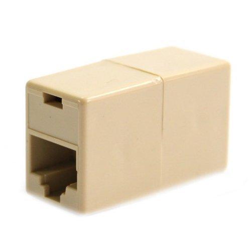 Cat5 Rj45 Netzwerkkabel-Verl/ängerungsstecker Kupplung Buchse auf Buchse F-F