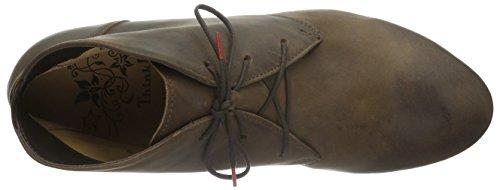 Think Guad, Zapatillas de Estar por Casa para Mujer Marrón - Braun (Espresso 41)