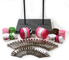 The Ribbon Retreat Hair Bow Maker Starter Kit/Bowmaking Kit Makes up to 30+ Bows