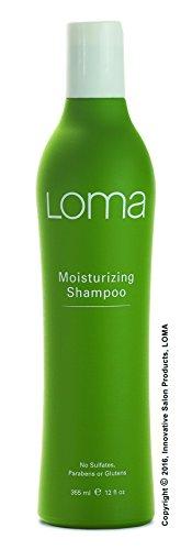 Loma Hair Care Moisturizing Shampoo, Mango/Orange/Tangerine, 12 Fl Fl Oz
