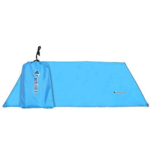 Od-sports 59x86 inch Backing Insulating Insulation Camping Mat Blanket Cushion Pad for Camping Hiking(Blue) (Pig Mohair)