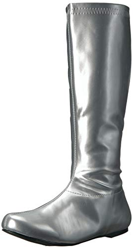 - Ellie Shoes Women's 106-Avenge Boot, Silver, 7 M US
