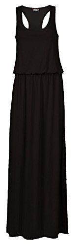 Women's Toga Long Vest Maxi Puff Ball Ladies Dress Plus Size (Toga For Women)