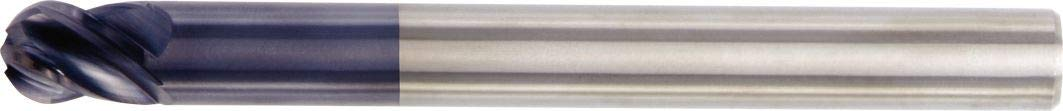 RH Cut 0.25 Cutting Diameter Carbide Ball Nose 4FL WIDIA Hanita TF4VP007012 VariMill I 4VP0 HP Finish//Rough End Mill 0.25 Shank Diameter TiAlN