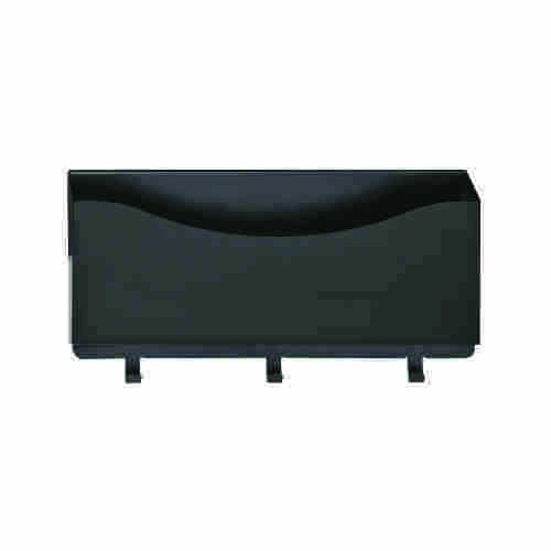 STEELMASTER Slot System Mail Caddy, 5.5 x 10 x 2.25 Inches, Black (264P21104)