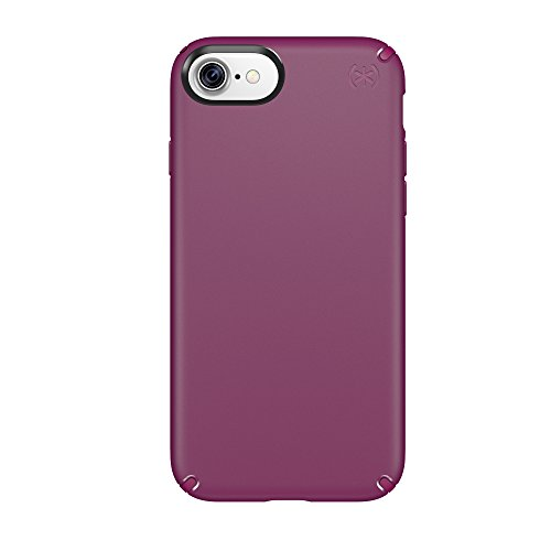 Speck Products 79986-5748 Presidio Cell Phone Case for iPhone 7, Syrah Purple/Magenta Pink ()