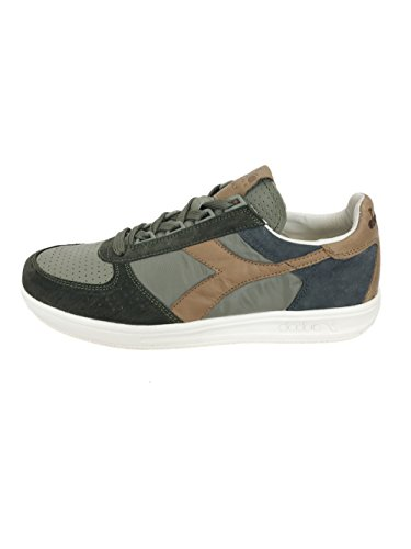 Leather Italy textile 5 phantom Diadora Sneakers Elite Olive 170581 Uk8 B Burnt wqxCCAIE