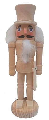 Unfinished DIY  8 inch Nutcracker