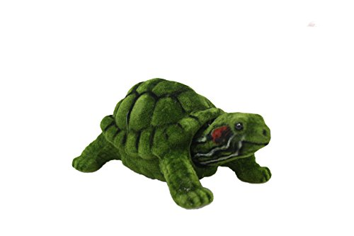 Amazing Bobblehead Turtle with Auto Dashboard Adhesive (Green)
