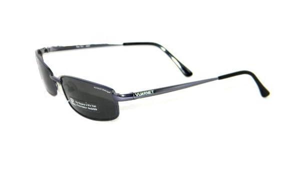 VUARNET 161 Gris Polarizador Gafas de sol Metal: Amazon.es: Ropa y accesorios