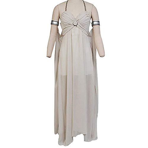 GOTEDDY Halloween Daenerys Cosplay Dress Women Party Costume (S) -