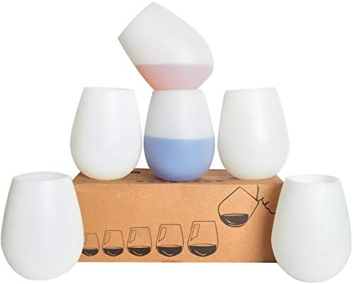 Silicone Glasses Unbreakable Stemless Dishwasher product image