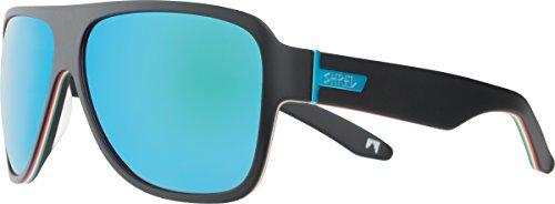 Shred Mavs Shrasta Sunglasses, Smoke/Turquoise - Ted Ligety Sunglasses