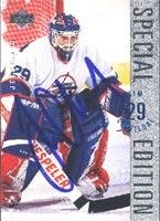 Edition Card Autographed Special (Tim Cheveldae Winnipeg Jets 1996 Upper Deck Special Edition Autographed Card. This item comes with a certificate of authenticity from Autograph-Sports. Autographed)