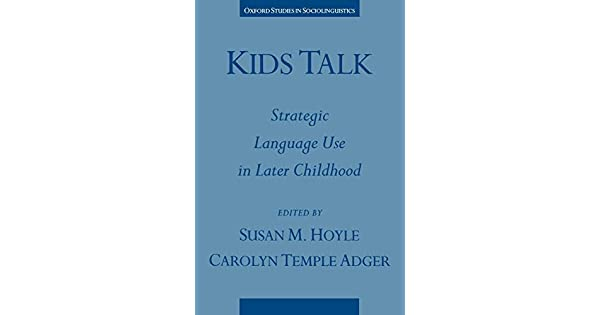'The development of young children's ability to talk on the telephone'
