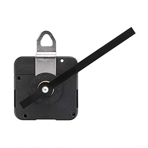 (DDV-US DIY Wall Quartz Tide Clock Movement Motor Mechanism Hands Fitting with Metal Hanger)