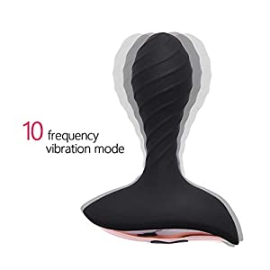 Anal Plug Butt Plug - Anal Pleasure - Silicone Anal trainer, Anal Stimulation and Self Pleasure masturbation for men,for women