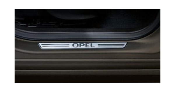 listón alfombrilla de trasera para Opel crossland X, Astra K Sport Tourer ST, zfira C, insigna B Sport Tourer ST, 1 Pieza de acero Original 13345214: ...