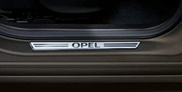 listón alfombrilla de trasera para Opel crossland X, Astra K Sport Tourer ST, zfira