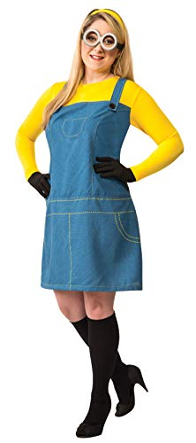 Rubie's Women's Despicable Me 2 Female Minion Costume, Multicolor, ()