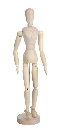 Darice 16 Inch Sectioned Wood Manikin