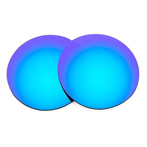 Verres de rechange pour Ray Ban W2835 (B&L) — Plusieurs options Bleu Glacier MirrorShield® - Polarisés