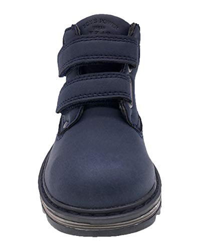 ce2f42584ee7a TZJS Kids' Hiking Boots for Boys Girls, Waterproof Outdoor Ankle Boots with  Hook and Loop