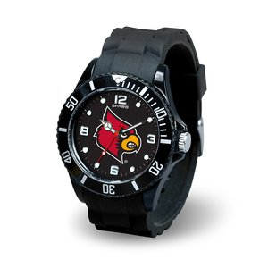 Rico Industries NCAA Louisville Cardinals Spirit - Digital Cardinal Watch