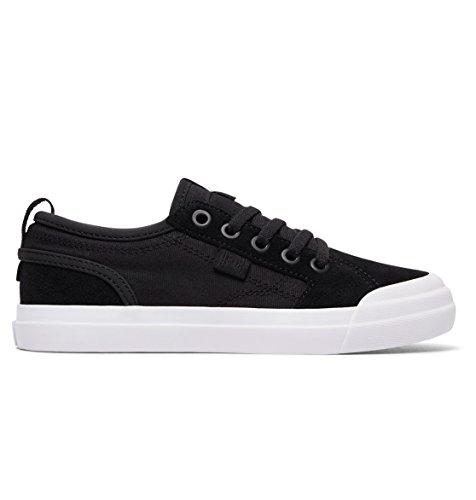 Dc Shoes Evan B Shoe Bkw (Kids) Black/White 28.5 EU (11.5 US / 10.5 UK)