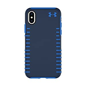 Under Armour UA Protect Grip Case for iPhone X - Midnight Navy/Mediterranean