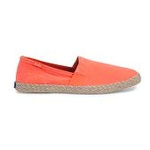 Keds Women's Chillax a-Line Jute Seasonal Solid Fashion Sneaker, Coral, 7 B(M) US