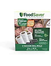 """FoodSaver 8"""" Roll with unique multi layer construction, BPA free, 3pk"""