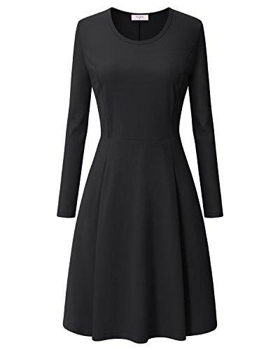 ca fashion black dress - 6